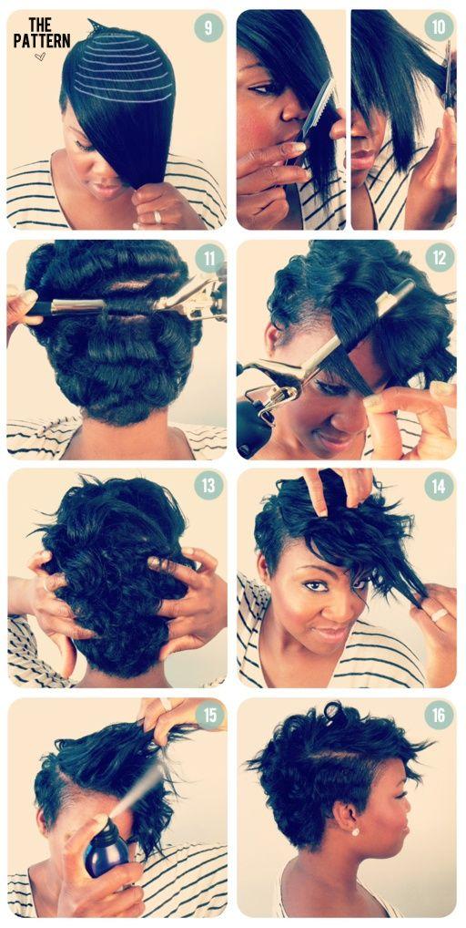 21 great short hairstyle ideas and tutorials hair pinterest kurze haare locken haare 2018. Black Bedroom Furniture Sets. Home Design Ideas