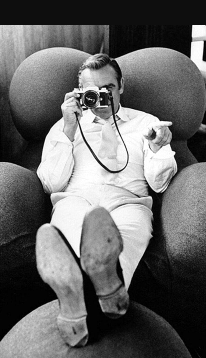 Sean Connery - Nikon | Sean connery, Fotografia, Faye dunaway
