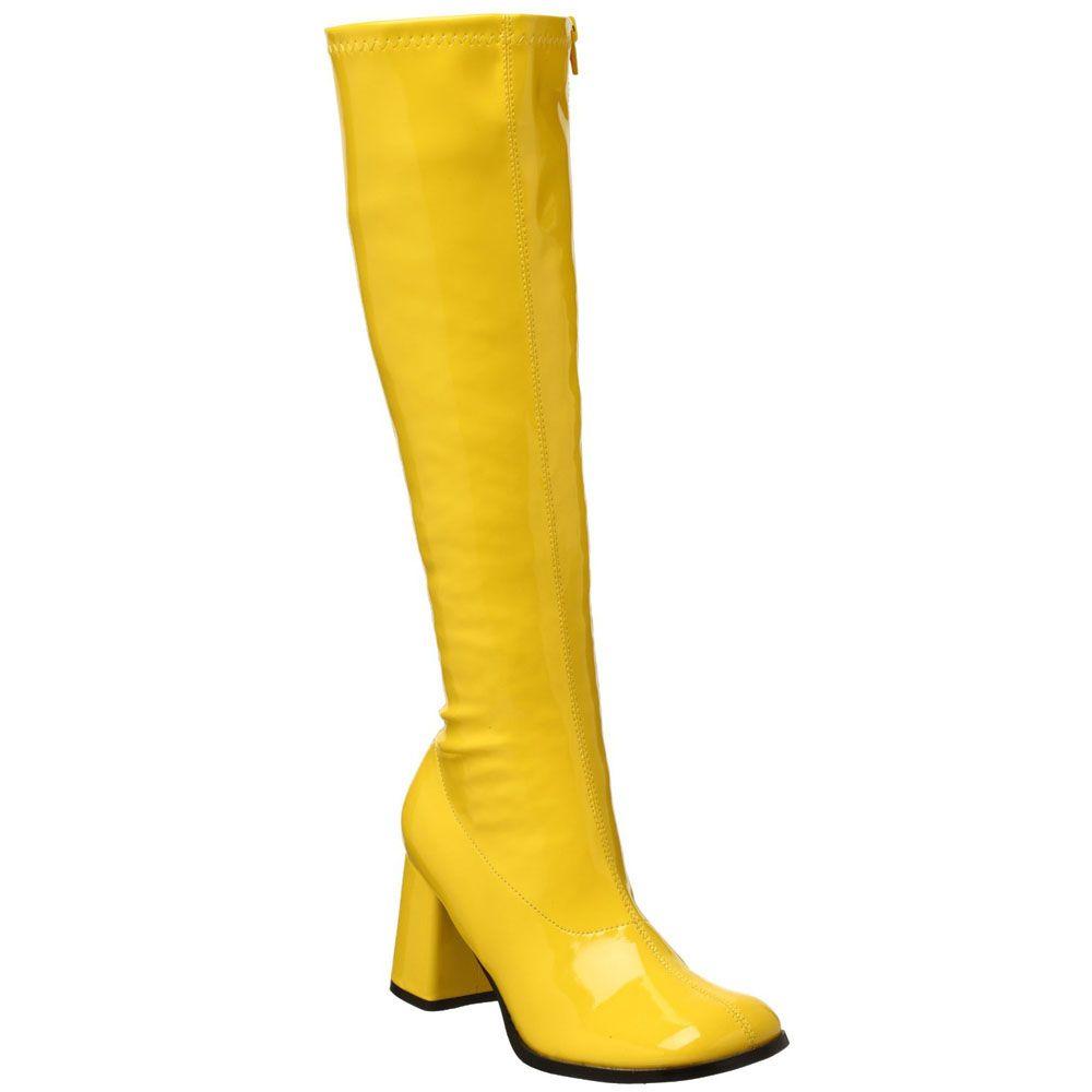 """Details about FUNTASMA GOGO-300 3"""" Women's Block Heel GOGO Boots ..."""