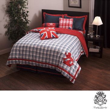 English Laundry Stock Port King Size 3 Piece Duvet Cover Set