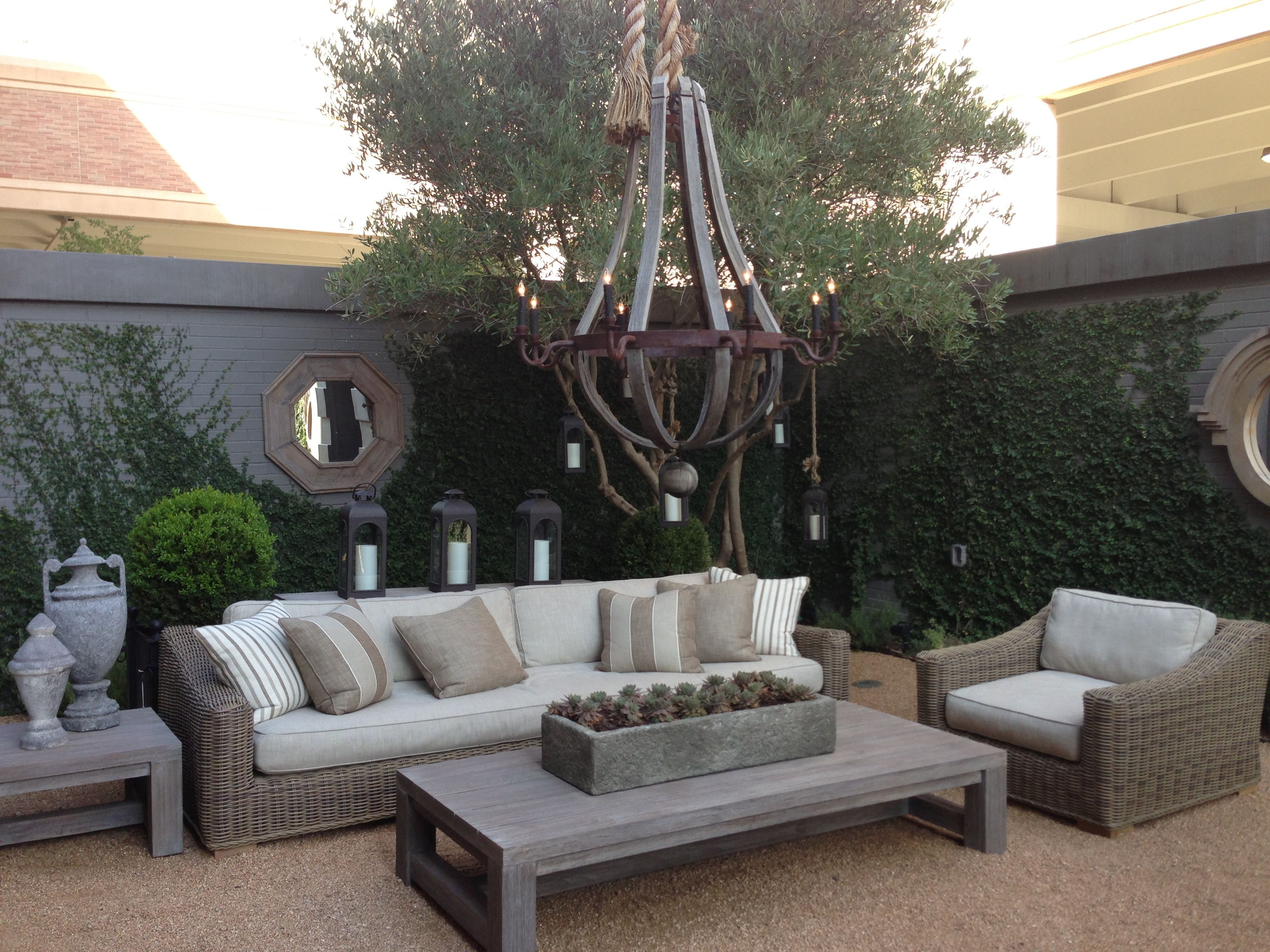 Outdoor living by restoration hardware summer for Restoration hardware outdoor dining