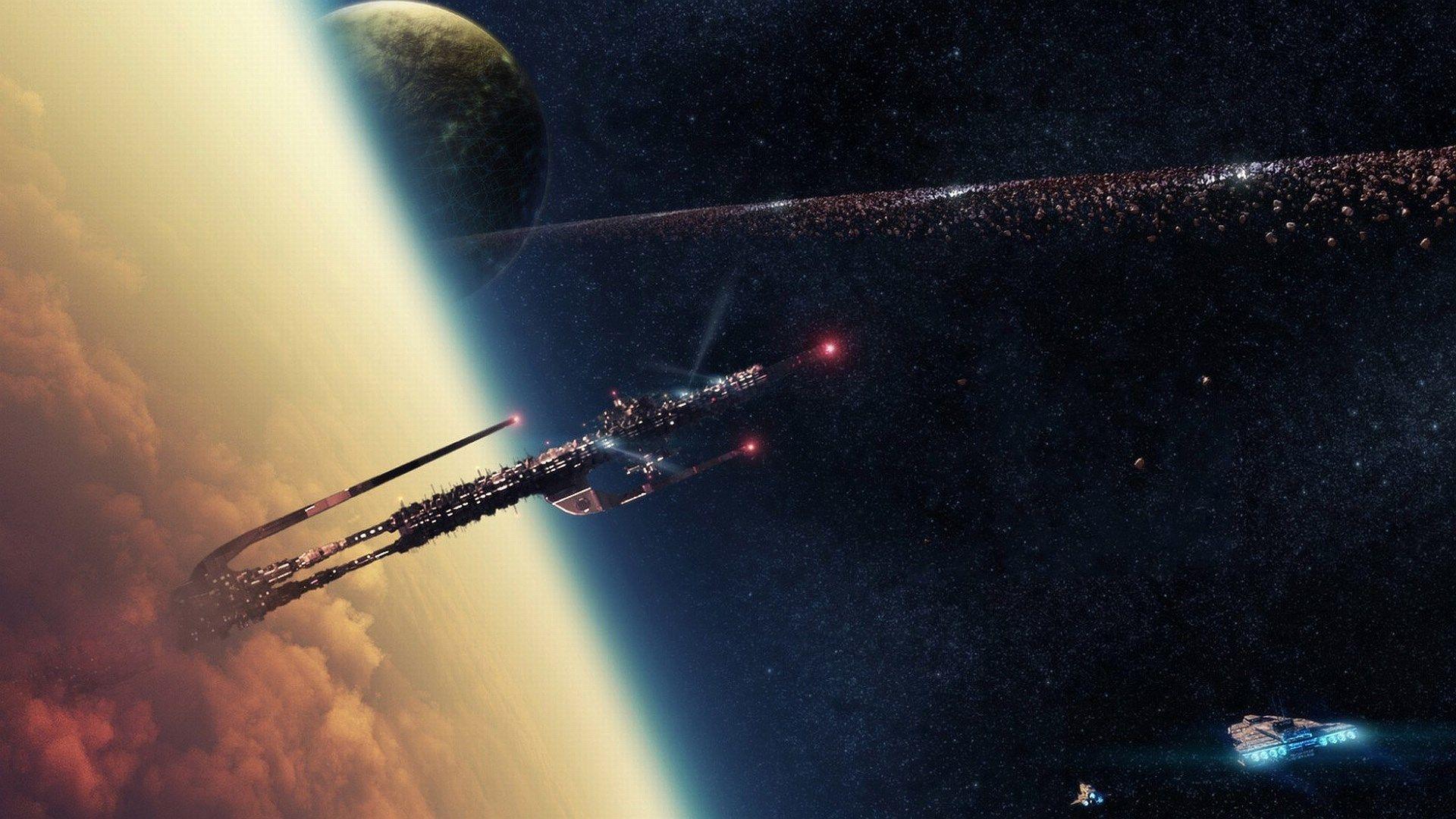 1920x1080 high resolution wallpaper spaceship space