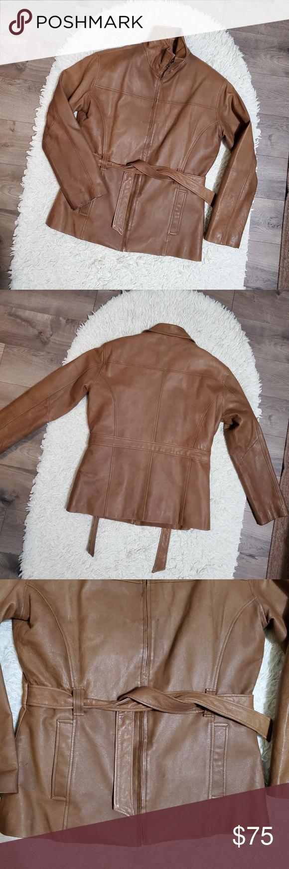 Vilanto Genuine Leather Jacket Vilanto Genuine Leather Cognac Jacket Size L Shell Genuine Leather Li Genuine Leather Jackets Clothes Design Leather Jacket [ 1740 x 580 Pixel ]