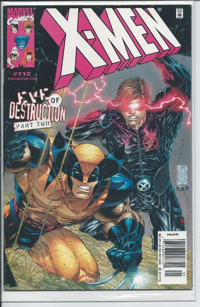 Marvel X Men 112 Eve Of Destruction Part 2 Cyclops X Men Marvel Comics Art Wolverine Marvel