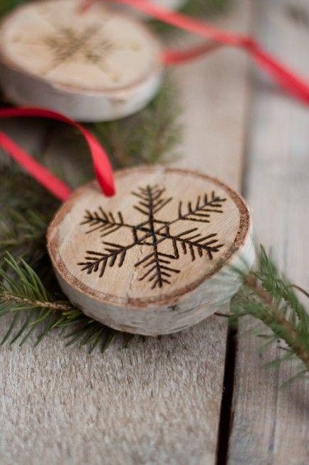 Wood Burning 25 Trendy Diy Ornaments Christmas Ornaments Homemade Christmas Diy Diy Christmas Ornaments