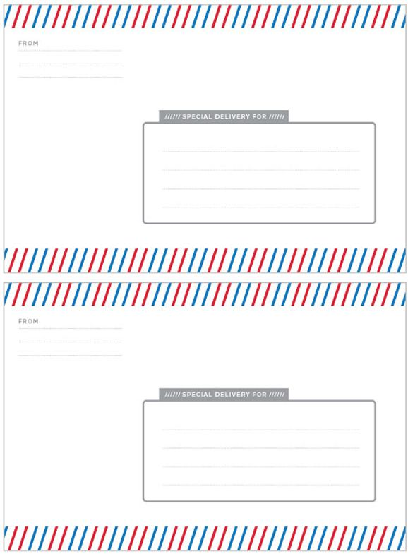 Special Delivery Label Template Label Templates Special Delivery - Delivery label template