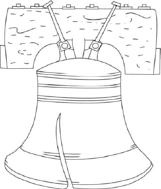 Liberty Bell Free Printable Coloring And Activity Pages Click