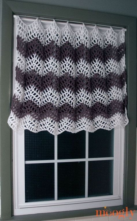 Crochet Your Own Curtains with These Free Patterns | Pinterest