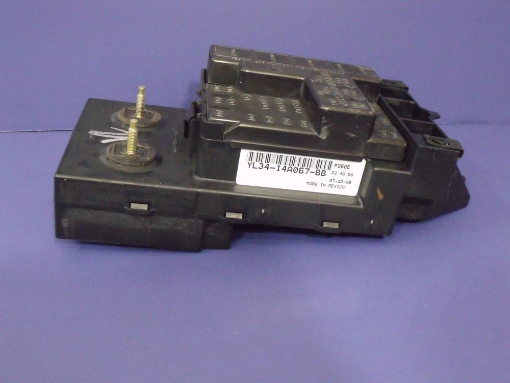 1999-2003 Ford F150 UNDER DASH FUSE RELAY BOX OEM # YL34-14A067-BB