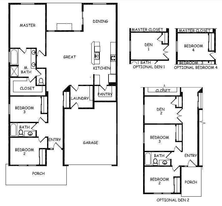 Hayden Homes | Orchard | Home | Pinterest | Orchards, Open layout ...