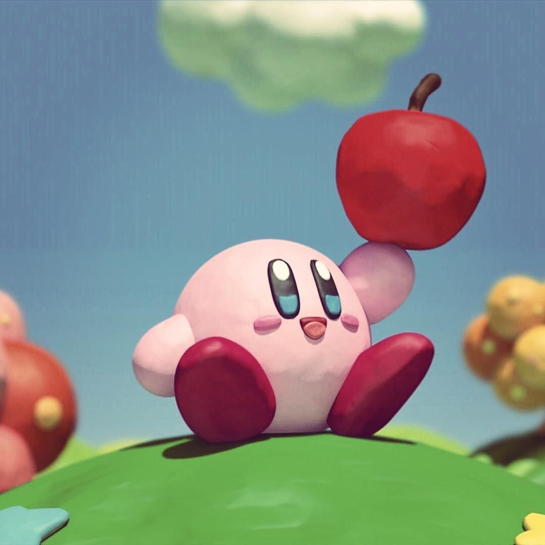 De esta manera nadie sospechará que Kirby es una bola toda de combate preparada para batirse a duelo sin dudar con cualquier personaje del universo Nintendo. Cuál es tu juego favorito de Kirby? #kirby #smashbros #brawl #melee #64 #n64 #wiiu #3ds #gameboy #gamecube #nes #snes #wii #nintendo #gaming #apple