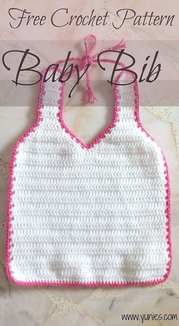 Free Crochet Pattern: Baby Bib | Free Crochet Pattern | Singapore ...