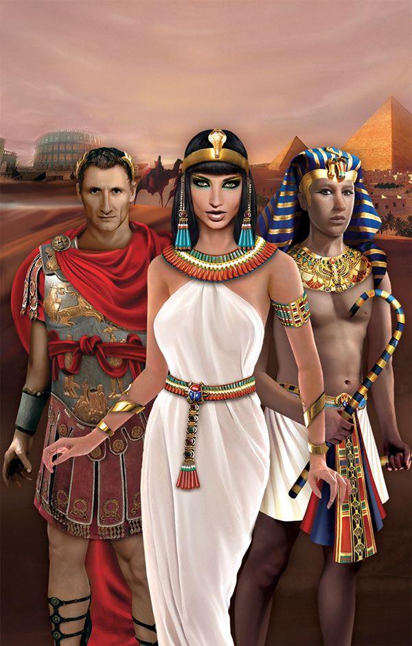 Julius Caesar Cleopatra And Tutankhamen King Tut Julius