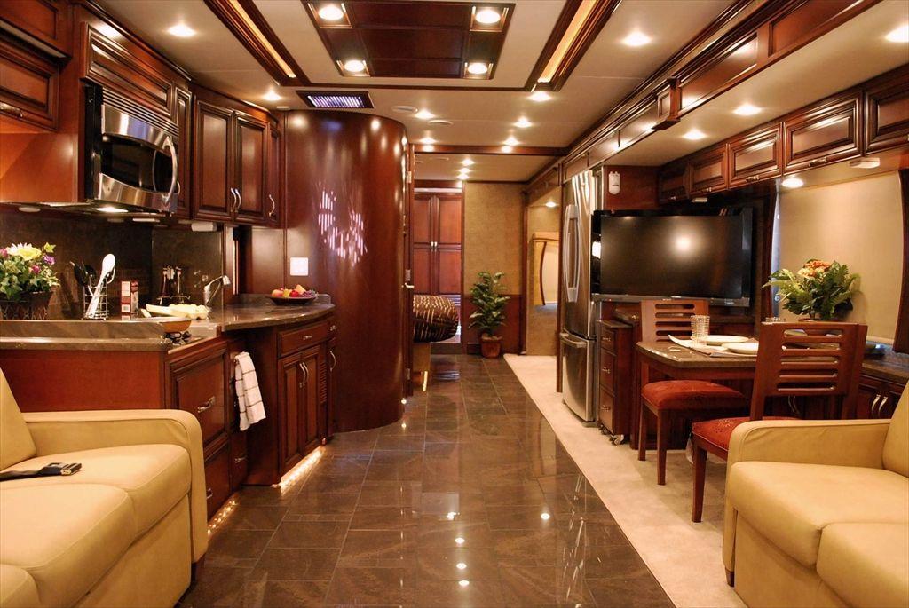 Luxury Motorhome Interior Motorhome Interior, Rv Interior, Interior Ideas,  Luxury Motorhomes, Luxury