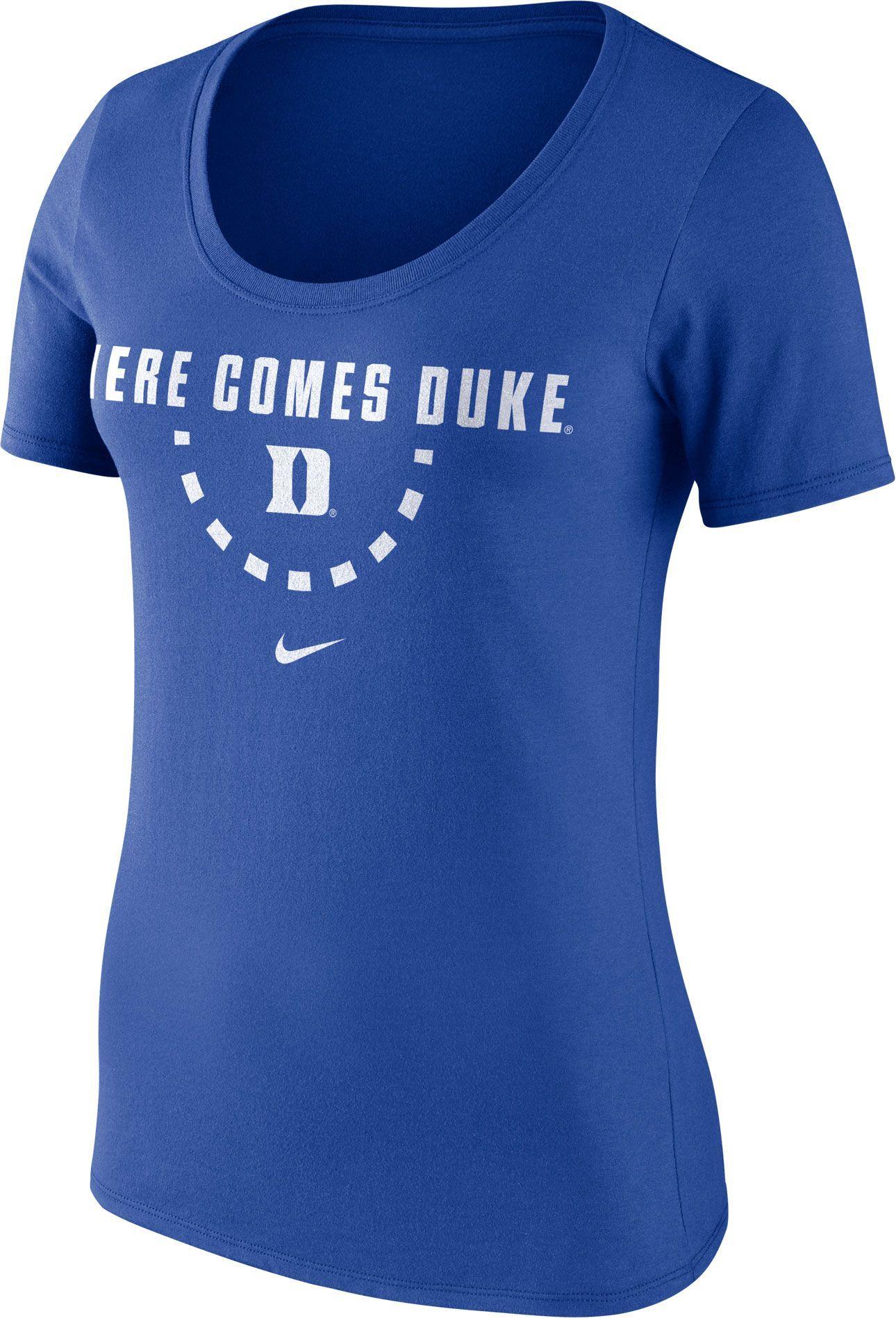 b544615f674d Nike Women s Duke Blue Devils Duke Blue Basketball Mantra T-Shirt ...
