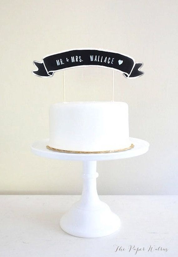 Hey, I found this really awesome Etsy listing at https://www.etsy.com/listing/118640482/cake-topper-banner-chalkboard-wedding