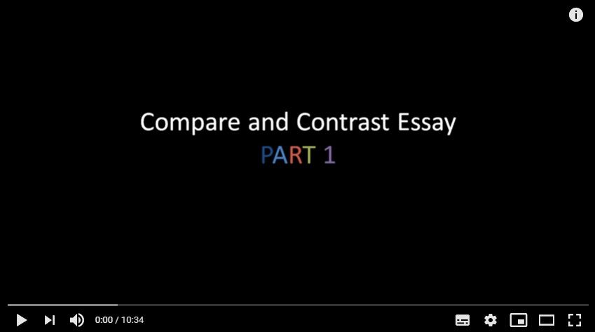 Compare And Contrast Paragraphs Examples Write Compare And Contrast Essay Examples Compare And Contrast Essay Templat Essay Examples Compare And Contrast Essay