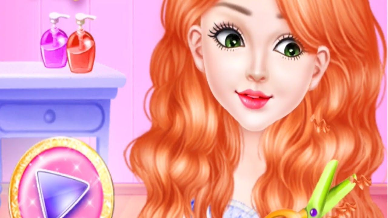 Hair Salon Stylish Haircuts   Makeover Games For Girls