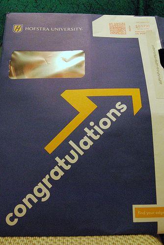 AcceptanceLetterEnvelope  Higher Ed    Acceptance Letter