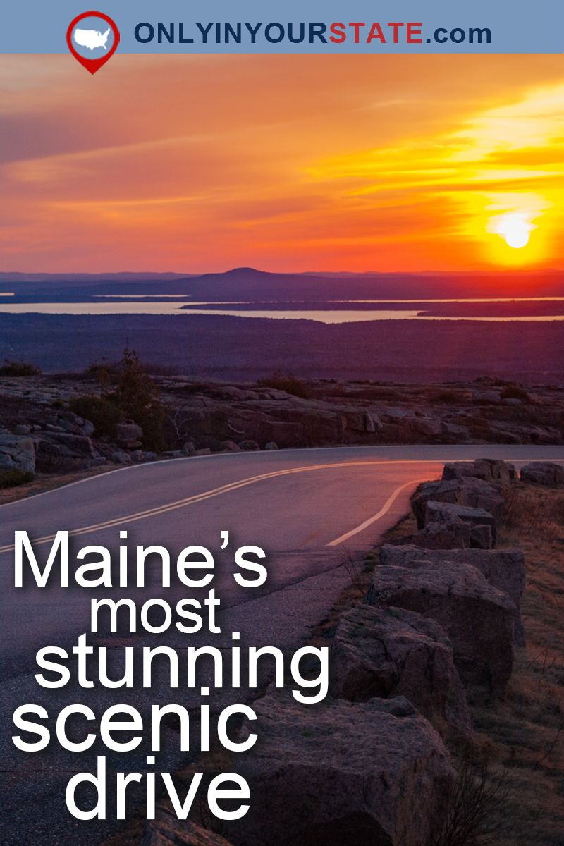 Travel Maine Attractions USA National Park