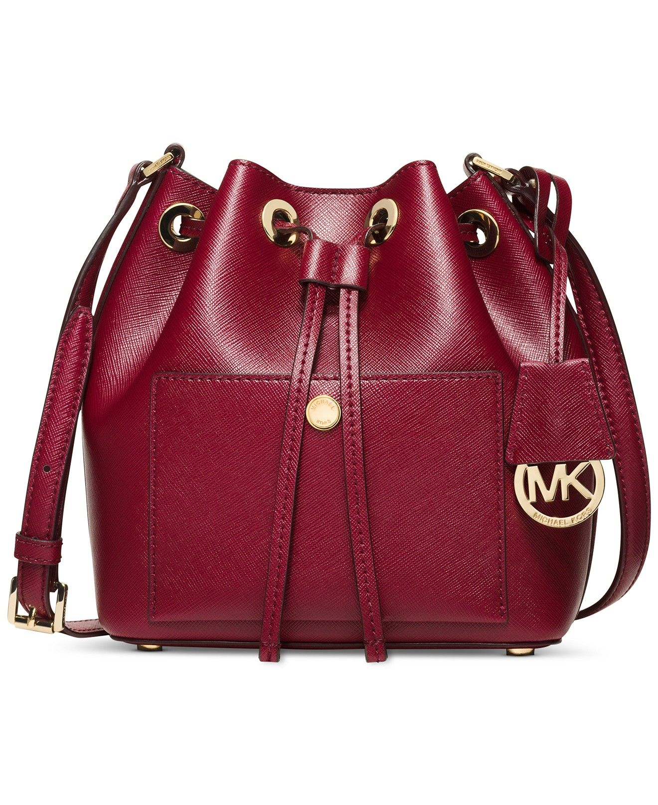 4ce03fd16f39 MICHAEL Michael Kors Greenwich Small Bucket Bag - Michael Kors Handbags -  Handbags   Accessories - Macy s