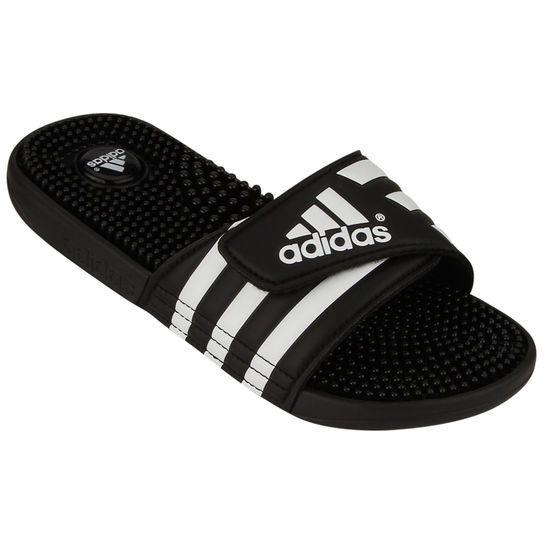 9a0a32753 Chinelo Adidas Adissage - Preto+Branco