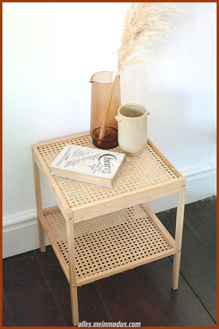Ikea Mobili In Vimini comodino creativo e grande in rattan ikea hack – #bedside