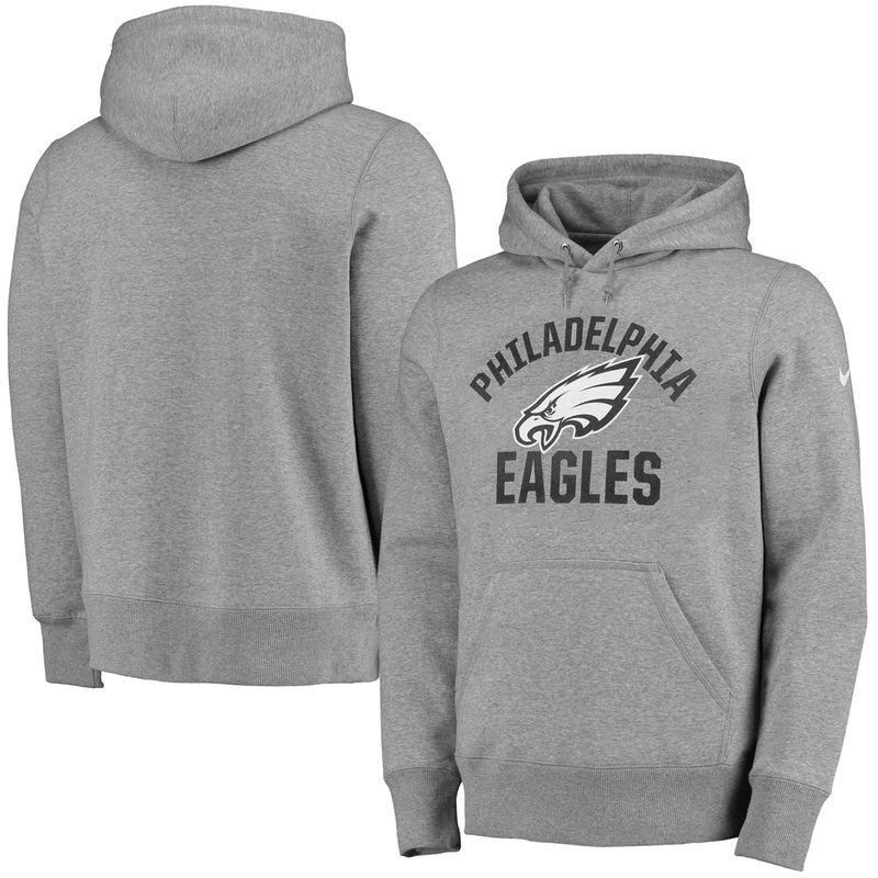 new arrivals 90dcc dee5b Philadelphia Eagles Nike Cold Weather Hoodie - Gray ...