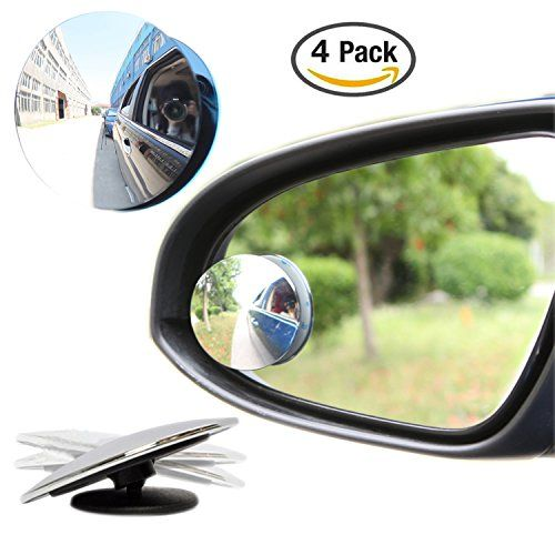 Robot Check Blind Spot Mirrors Fit Sticks Car