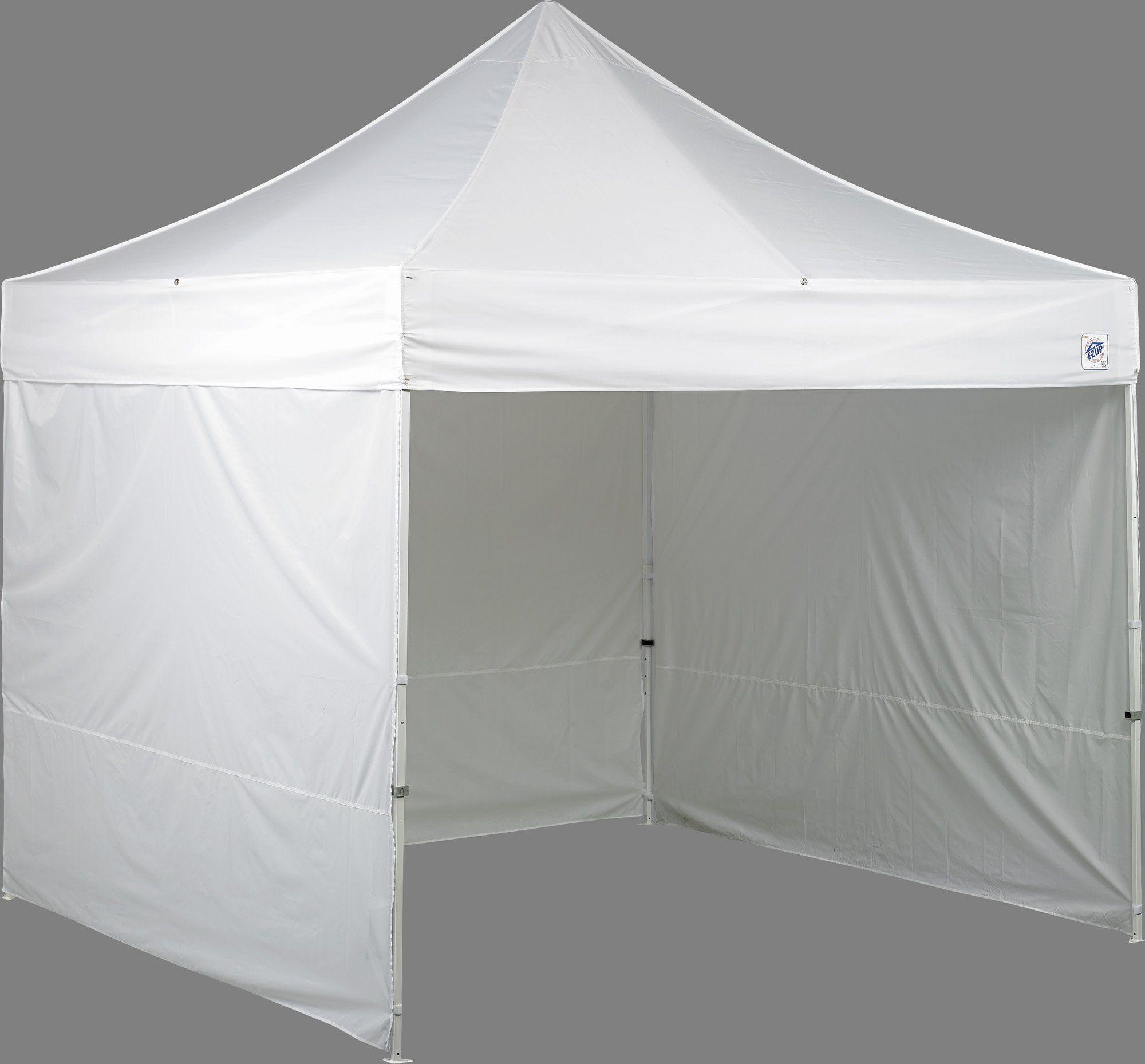 E-Z UP Es100S Instant Shelter, White