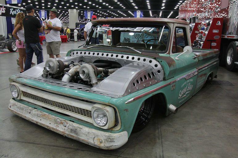 Twin Turbo '66 Chevy C/10