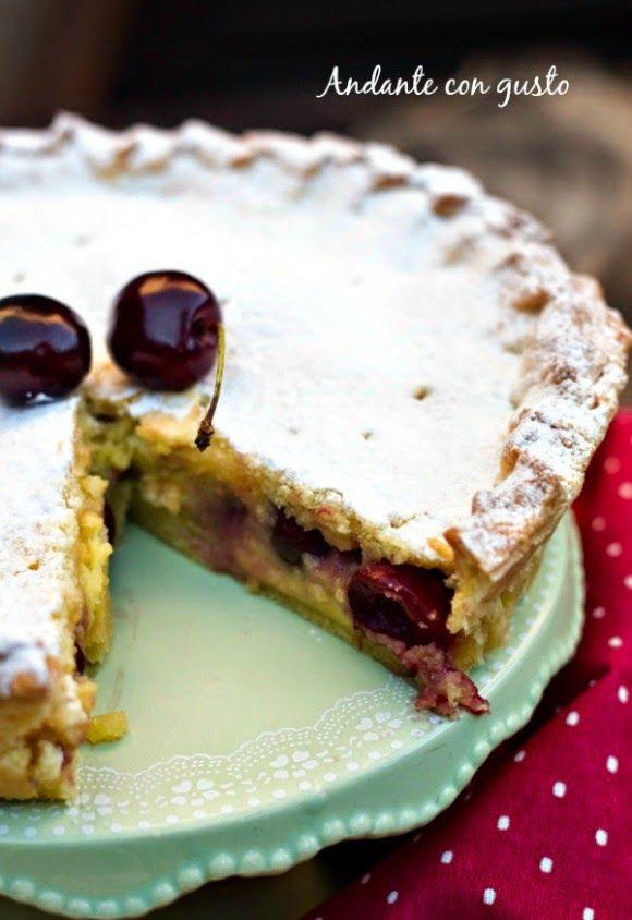 Andante con gusto: It's cherry time: irrinunciabile pizza di ciliegie...