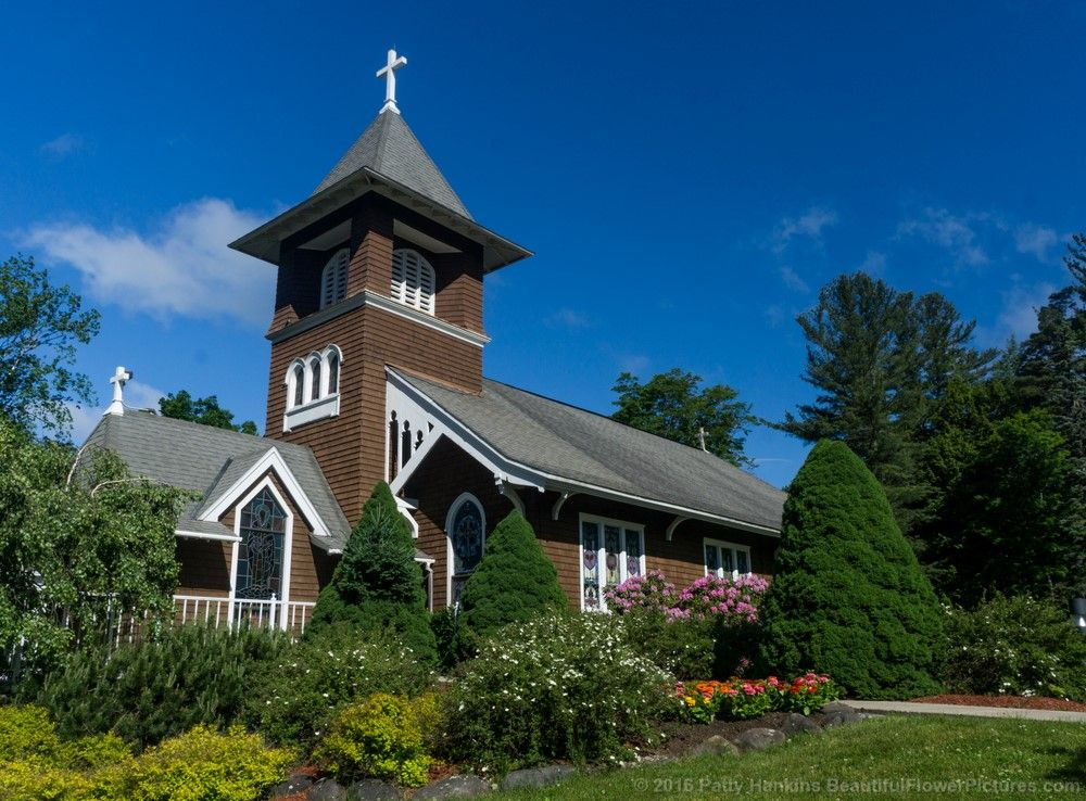 Immaculate Conception Church in Haines Falls © 2016 Patty Hankins