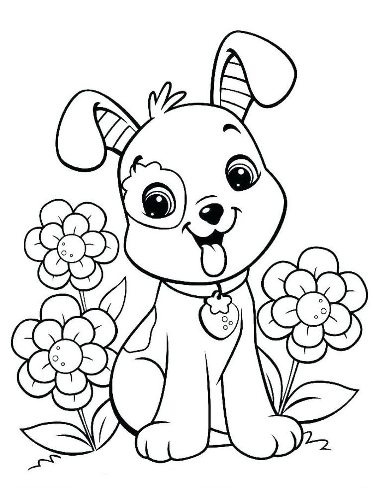 Cat And Dog Coloring Pages For Adults Dogs Are Man S Best Friend The Relationship Between Dogs And Puppy Coloring Pages Dog Coloring Page Cute Coloring Pages