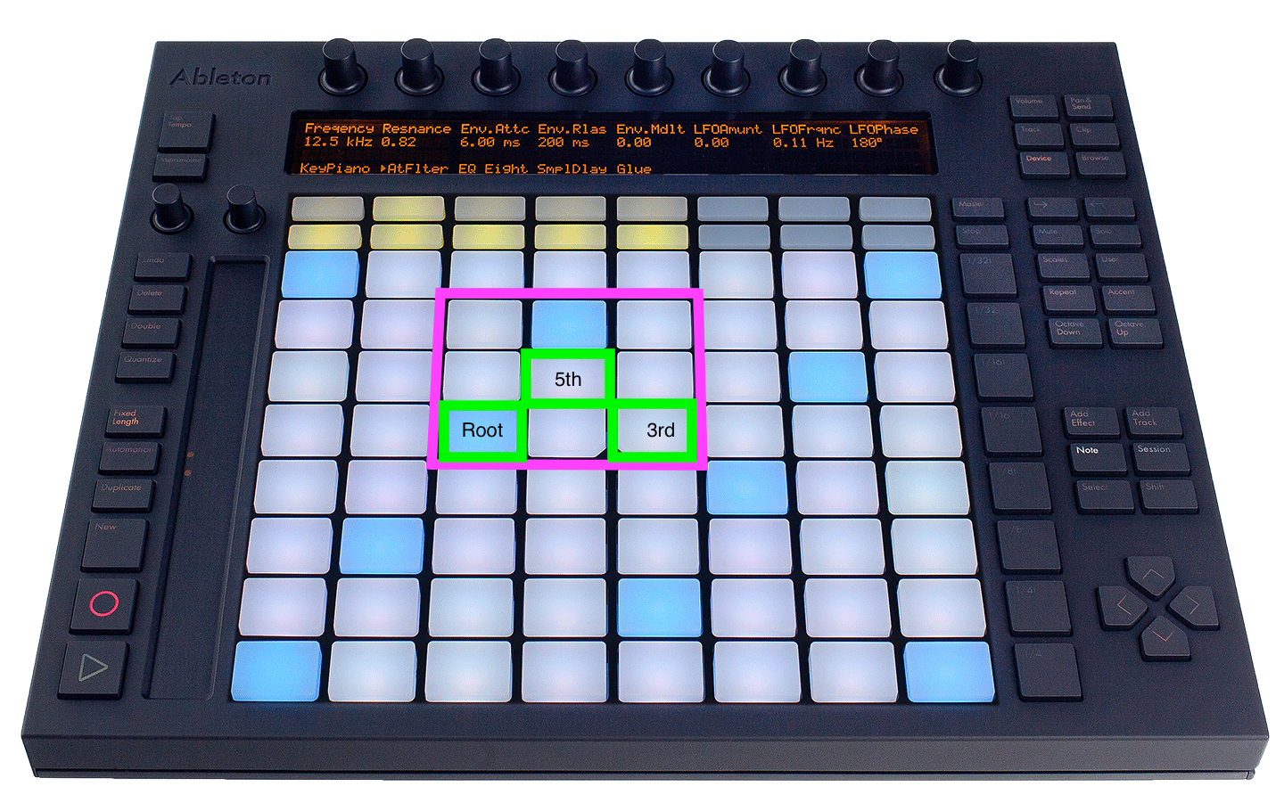 Ableton Push is a fantastic instrument to compose melodies and chords with. Both beginning and ...