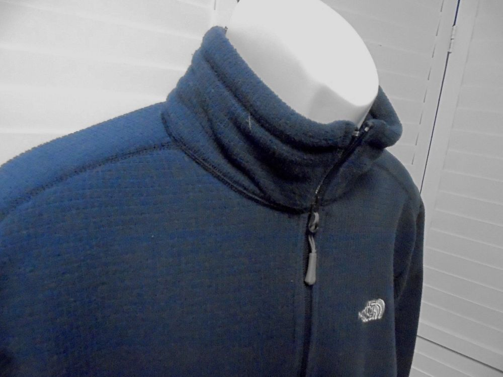 75c6cfedc The North Face 1/4 Zip Waffle Weave Fleece Pullover Sweatshirt Men's ...