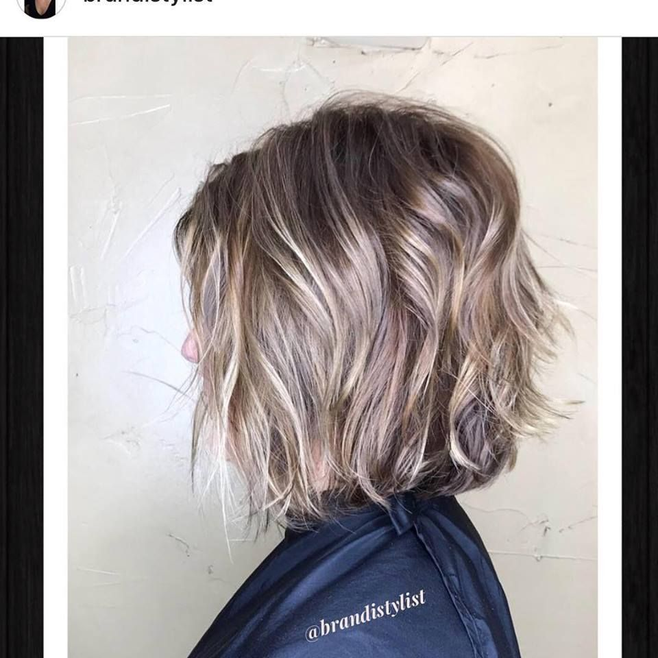 Love This Cut And Color By Brandi Base Color With Balayage Sign