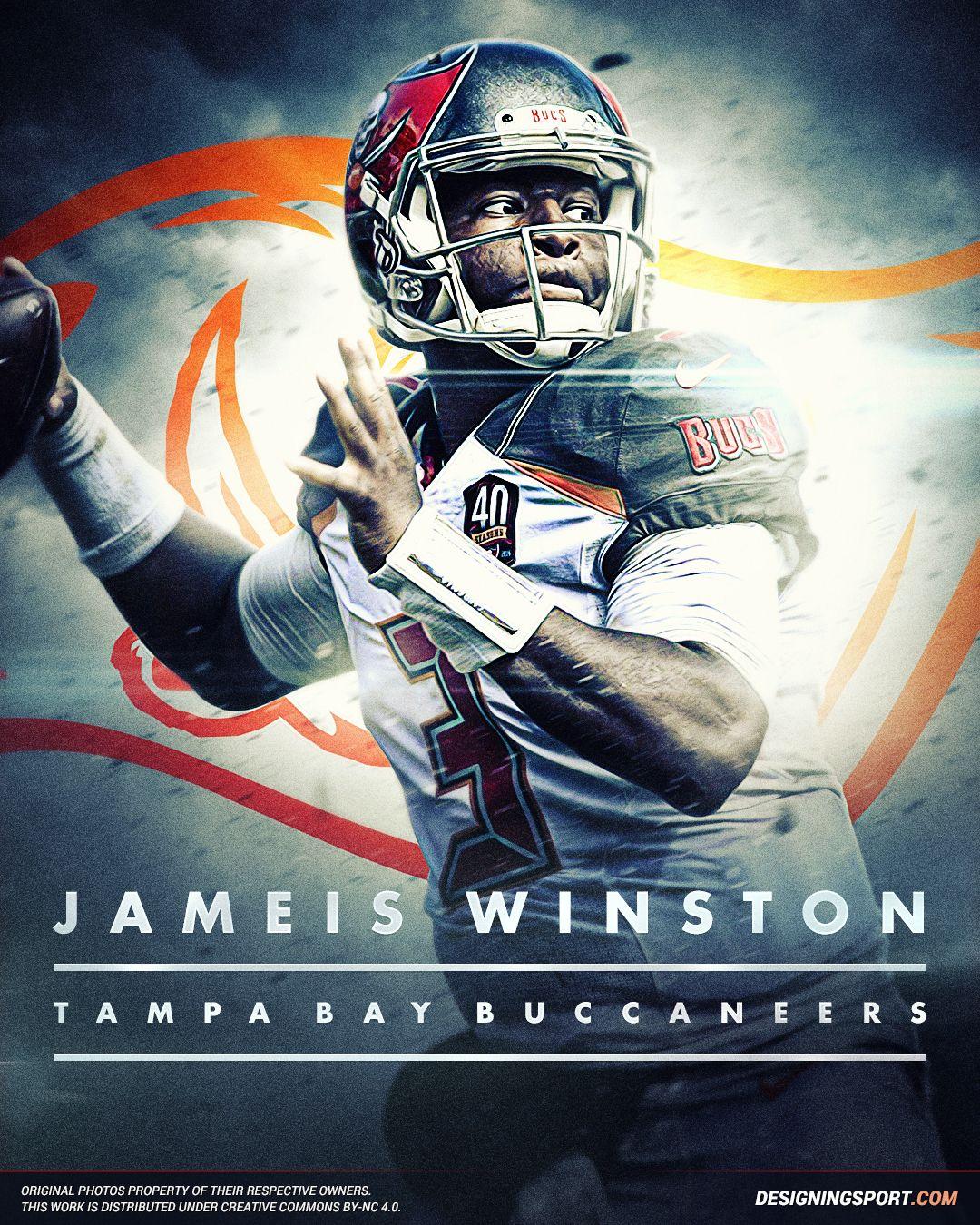 Designing Sport Jameis Winston Tampa Bay Buccaneers Tampa Bay Buccaneers Tampa Bay Tampa