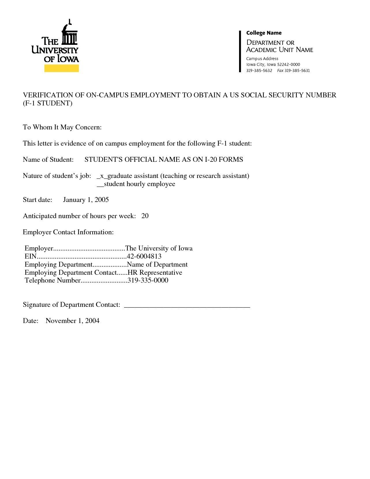 20 Sample Of Job Confirmation Letter From Employer Valid