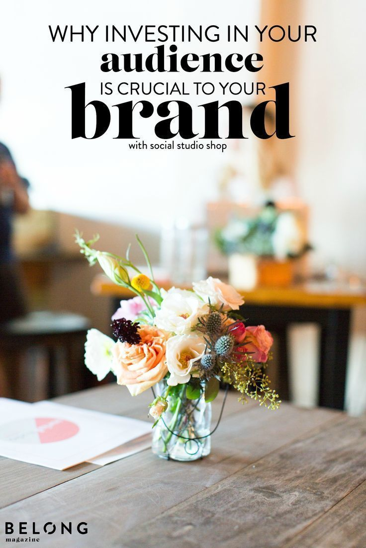 Why Investing In Your Audience is Crucial to Your Brand - by Jess of Social Studio Shop - featured in Belong Magazine / ISSUE 01  photo by Sarah Sweeny for Social Studio Shop