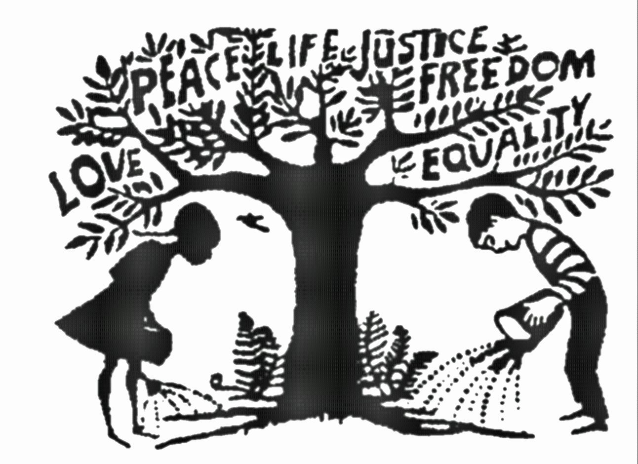 Take Care Of The Trees Activism Art Word Art Social Justice Definition