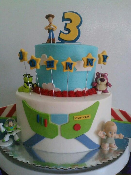 Birthday Party Ideas Buzz Lightyear Cake