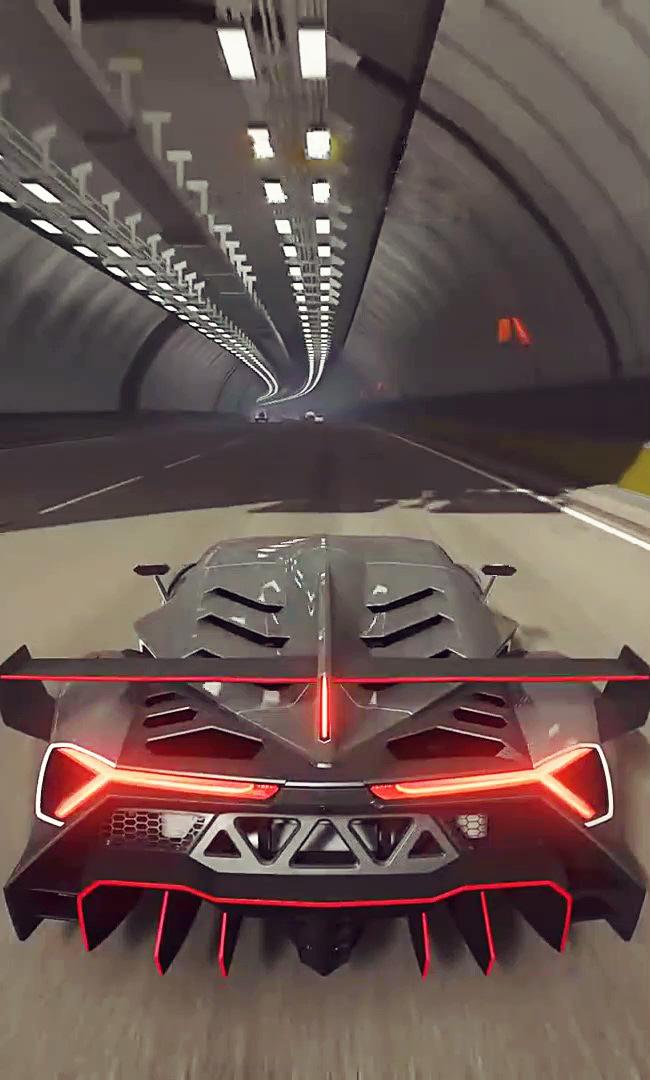 LAMBORGHINI VENENO RACE CAR