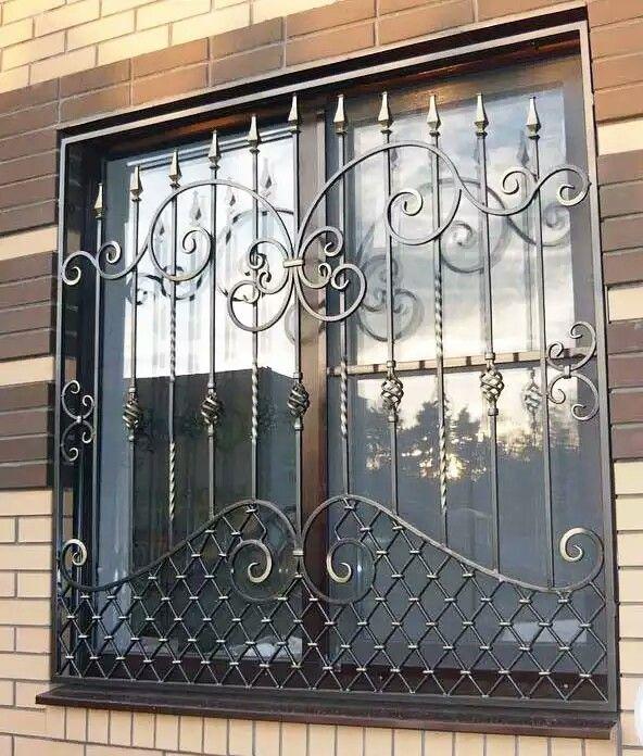 Window grill doors safety door design fence gate also classical iron metal art rh pinterest
