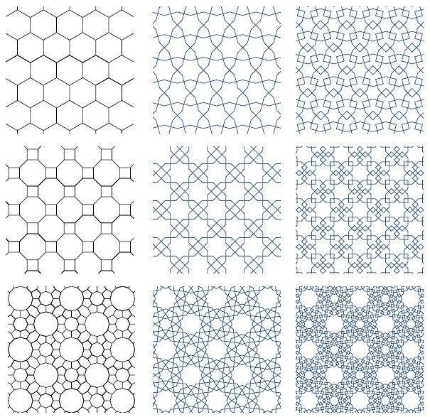 A Set Of 3d Patterns Created For An Upcoming Online Course On