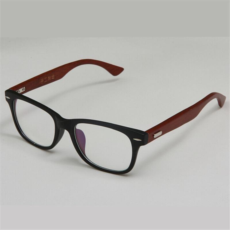 Stylish Handmade Wooden Glasses Frame Green Natural Wood Bamboo ...
