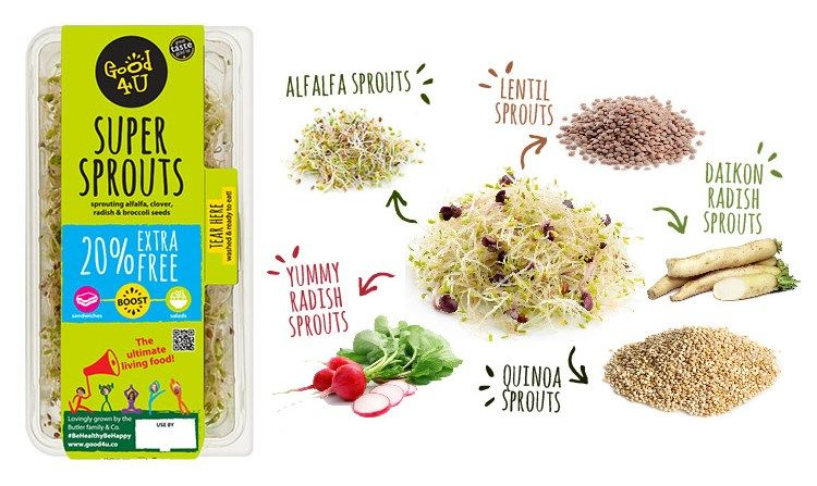 Free good4u super sprouts sprouts free food alfalfa