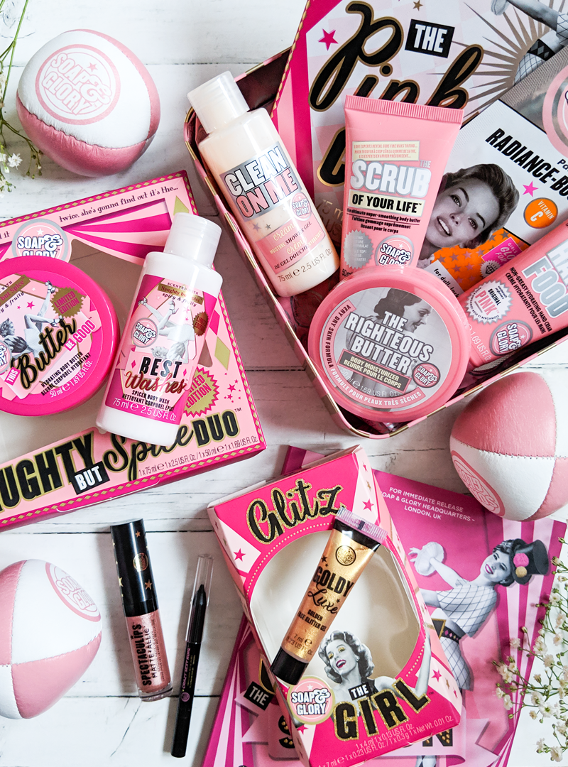 Soap and Glory Show Stopping Gifts Best makeup products