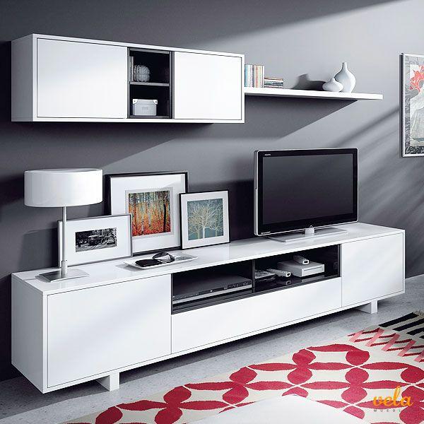 Salones modernos baratos en 2018 hogar pinterest for Ofertas de muebles de salon