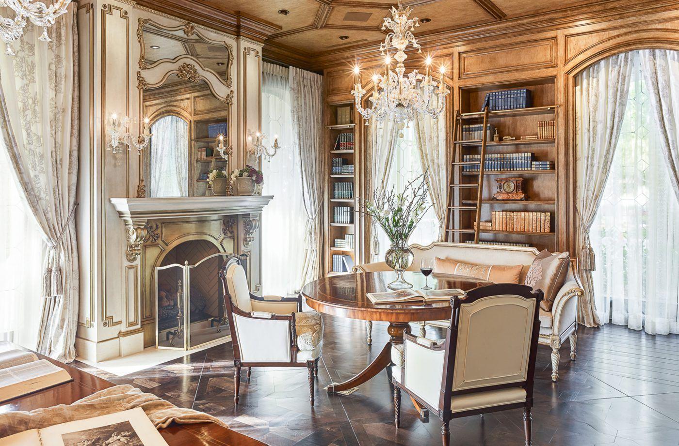 Renaissance Revival Library By Tara Dudley Interiors With Images Renaissance Revival Interior Home Decor
